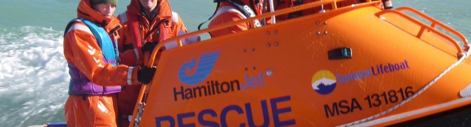 Hamilton Jet Rescue Boat Review by Paul Smith