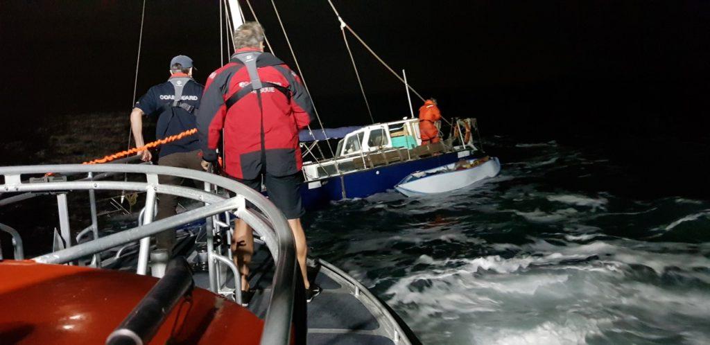 Trimaran rescue