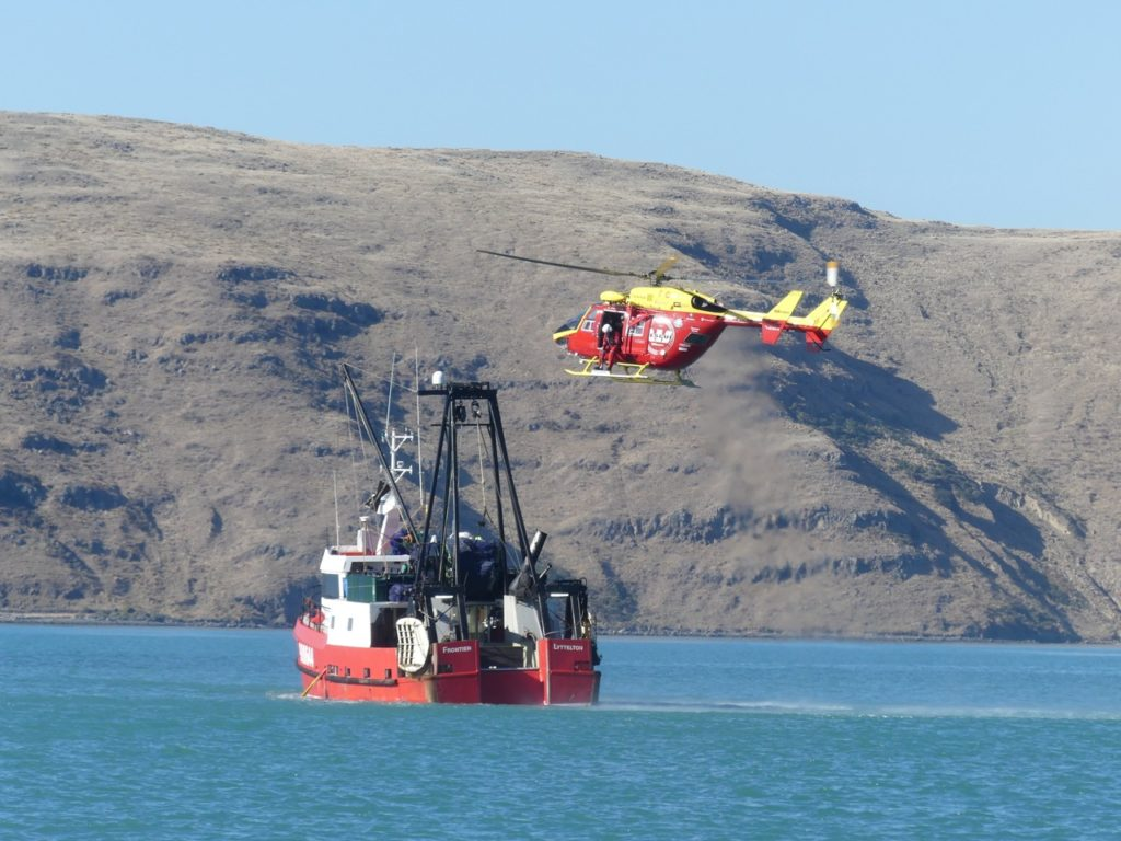 Westpac Helicopter  winching