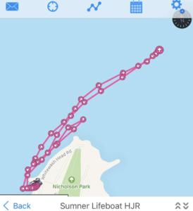 Hamilton Jet Rescue track