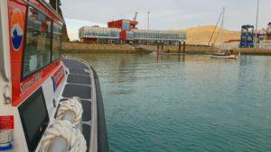 Pixie berthing at LPC
