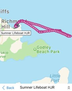 Lifeboat track