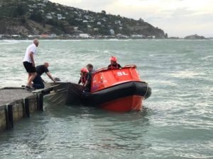 Dinghy recovered