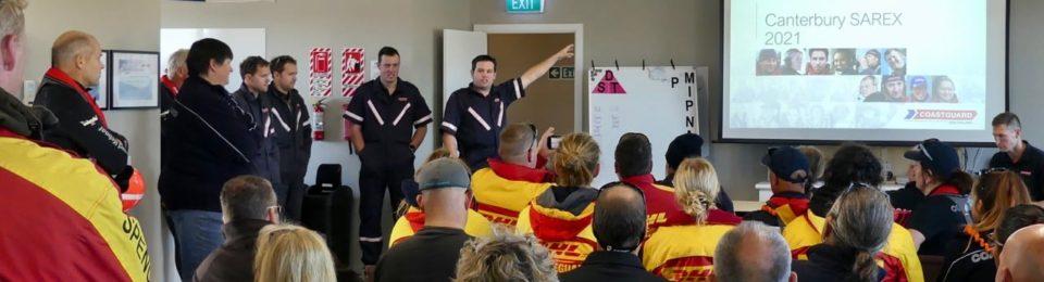 Canterbury SAREX: a major maritime search and rescue exercise